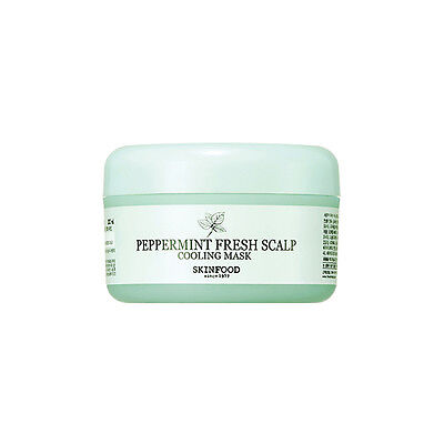 SKINFOOD [Skin Food] Peppermint Fresh Scalp Cooling mask 200g Free gift