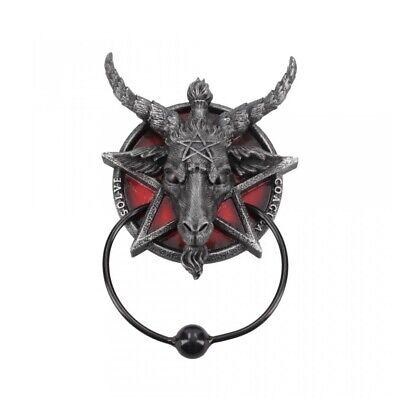 Türklopfer Baphomet Teufel Satan Halloween Dekoration Deko Fantasy NN157 (Teufel Halloween)