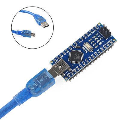 Nano V3.0 Usb Atmega328 16m 5v Micro-controller Board Ch340g Arduino Cable Np2