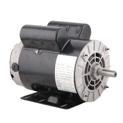 3 Hp Horse Power Single Phase Heavy Duty Electric Compressor Motor