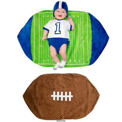 Newborn Swaddle Wings Football Costume size 0-3 Months (Newborn Costumes 0 3 Months)