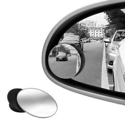 Espejo Retrovisor Gran Angular Convexo Ajustable Movible Angulo Muerto para Moto