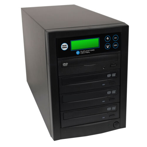 Spartan 3-Target 24x DVD/CD Duplicator Black D03-SSP