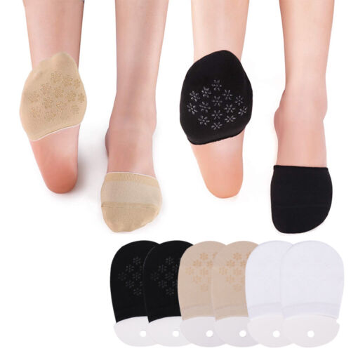 Sports Women Foot Cotton 5 Pairs Toe Socks Breathable Relief Cover Half Soft