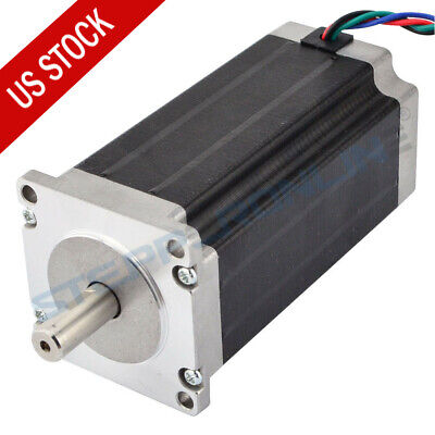 Stepperonline High Torque 113mm Nema 23 Stepper Motor 425oz.in 4.2a 4-lead Cnc