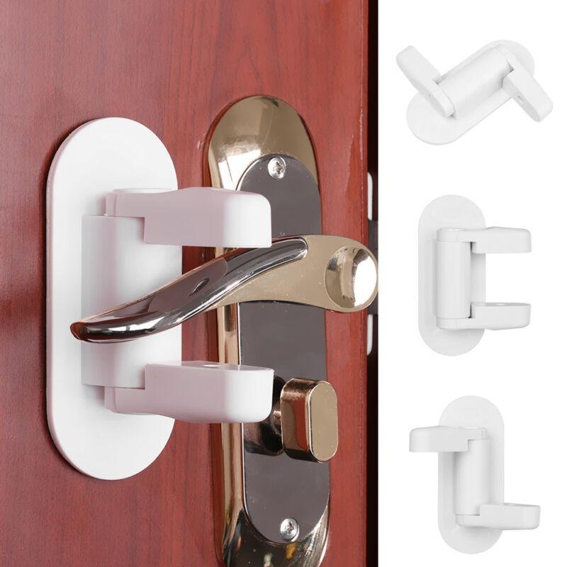 Baby Care Doorknob Holder Handle Fixation Door Lever Lock Doorknob Stopper