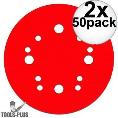 Diablo Dcd050220h50g 50pk 5 Hook Lock Sanding Disc 220 Grit 2x New