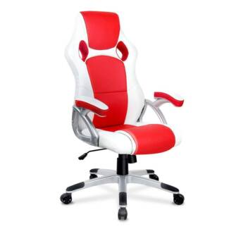 Racing Office Chair Red White