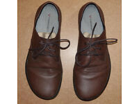 VIVOBAREFOOT Mens Ra Leather Shoes size UK 11 EU46 Brown