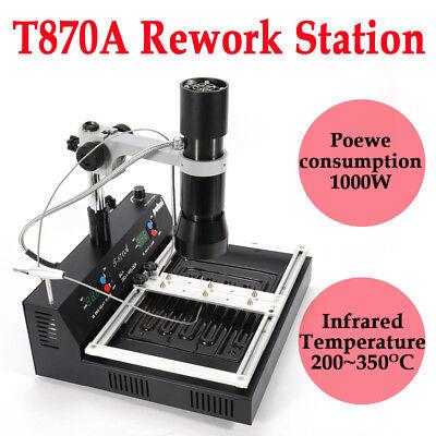 T-870a Bga Irda Infrared Rework Station Bga Smd Smt Desoldering Xbox Machine New