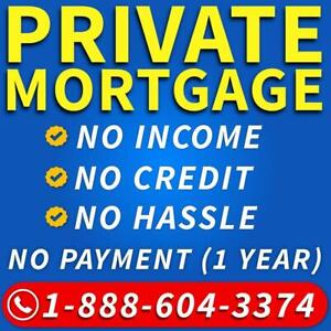 Private Mortgage Ontario - Private Lender - 2nd Mortgage / Second Mortgage - Bad Credit Mortgage - 1-888-604-3374
