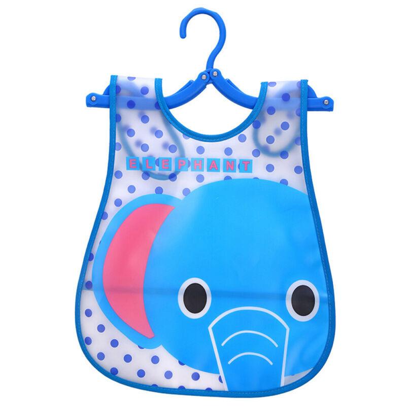 Newborn Cute Kids Bibs Baby Soft Cartoon Bib Toddler Waterproof Saliva Dripping D