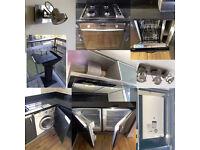 Job Lot: Dishwasher, Fridge, Freezer, Washing Machine, Oven, Chimney Hood, Barecue, Spot Lights
