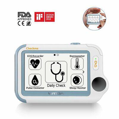 Checkme Pro Mini Vital Sign Monitor Ce Ecg Monitor With App Pc Report