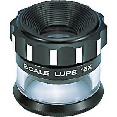 PEAK 2016 Scale Loupe 15x Magnifying glass From Japan with Tracking