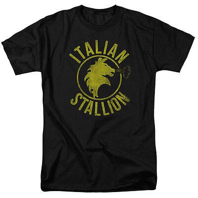 ROCKY ITALIAN STALLION HORSE Licensed Adult Men's Graphic Tee Shirt SM-5XL ()