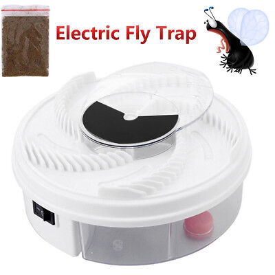 Electric USB Automatic Flycatcher Fly Trap Pest Reject Control Catcher Mosquito