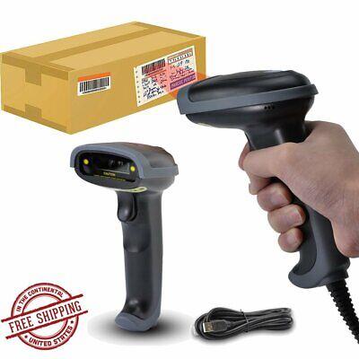 Usb Portable Laser Barcode Scanner Reader Handheld Bar Code Handheld Scan Wired