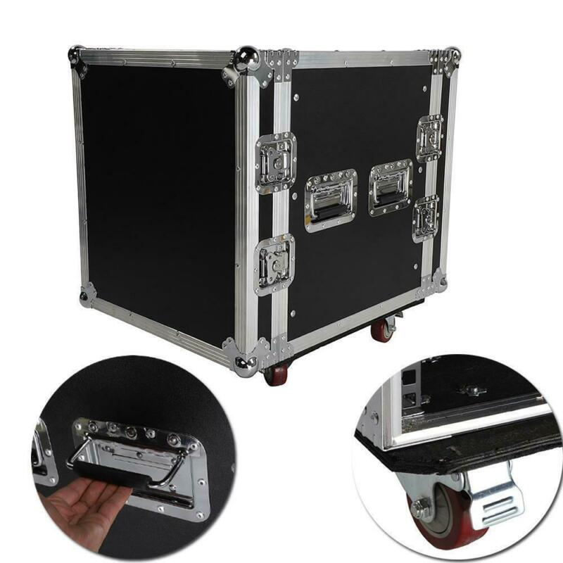 Durable 19 Inch Space Rack Case Single LayerDouble Door 12U DJ Equipment Cabinet