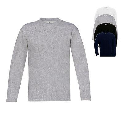 B&C Herren Sweatshirt OPEN HEM SWEAT Pullover Einfarbig S M L XL XXL Neu WU610