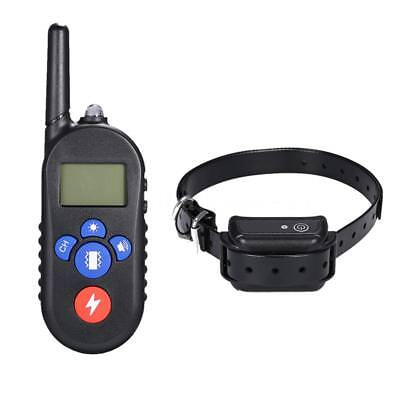 H556 Waterproof Rechargeable Remote Electric Shock Anti-Bark Dog Training H3T7