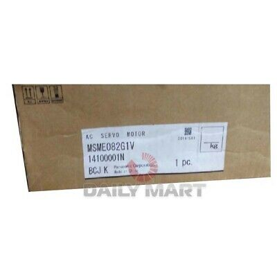 New In Box Panasoinc Msme082g1v Servo Motor