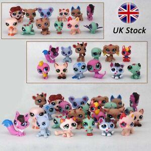 24Pcs/pack Littlest Pet Shop Lot Animals Hasbro LPS Figure Toys Dog Lion Cat Cow