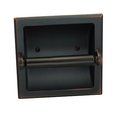 Designers Impressions Oil Rubbed Bronze Recessed Toilet/Tiss