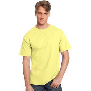 a0cfe766b3d88 Hanes 5250 Tagless T-shirt Size 6xl Yellow