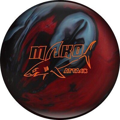 15lb Track MAKO ATTACK Hybrid Reactive Bowling Ball New