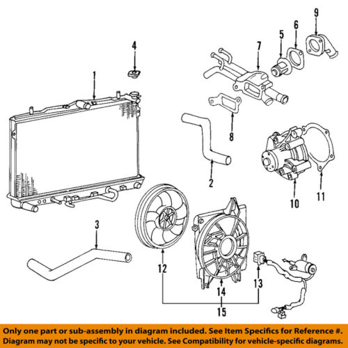 Kia Oem 06 09 Sedona Engine Water Pump Gasket 213553c510 Ebay