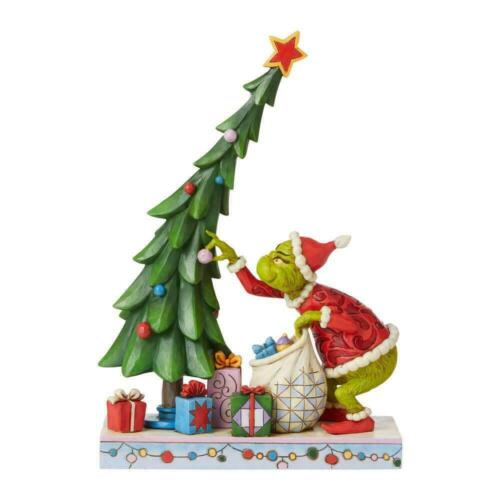 Jim Shore GRINCH UNDECORATING the Christmas Tree Figurine 6008886 NEW 2021