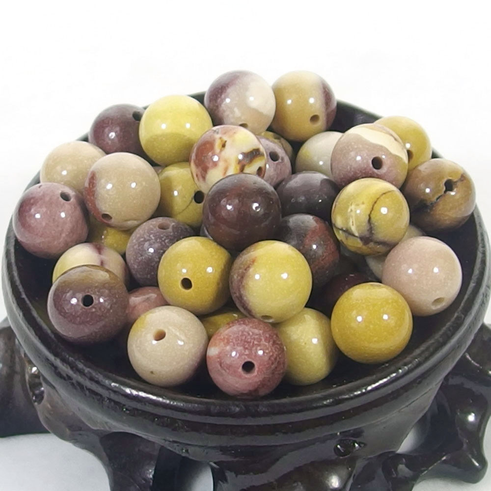 Bulk Gemstones I natural spacer stone beads 4mm 6mm 8mm 10mm 12mm jewelry design mookaite jasper