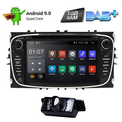 Android 9.0 Autoradio GPS Navi Sat Dash DAB Für Ford Focus Mondeo S-max Galaxy Sat-dash