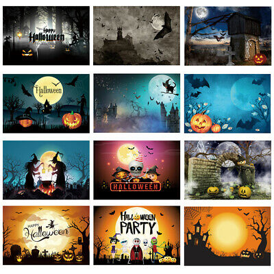 Halloween Backdrop Pumpkin Lantern Night Scene Background Photography Photo Prop](Halloween Pumpkin Background)