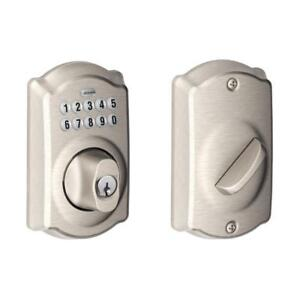 NEW Schlage BE365 CAM Camelot Keypad Deadbolt