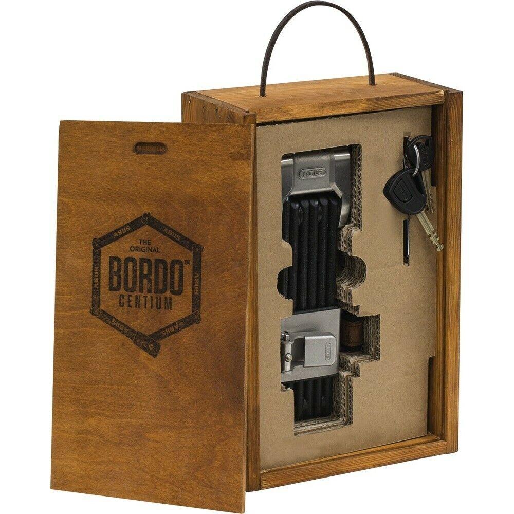 Abus Folding Bordo Centium 6010 Lock 90cm Black Bike Locks,