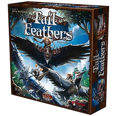 TAIL FEATHERS BATTAGLIE NEL MONDO DI MICE AND MYSTICS Gioco da Tavolo Ita Raven