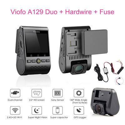 Dvr 30fps (Viofo A129 Duo 1080P 30 FPS Auto DVR Bewegungserkennung GPS+Hardwire+Sicherung)