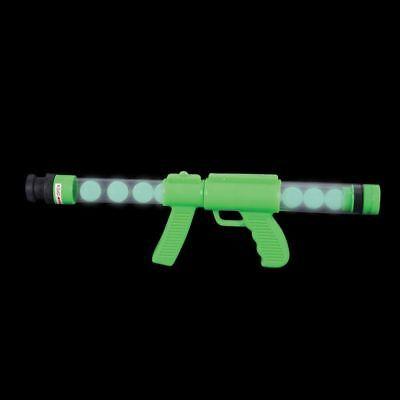 10 Glow in the Dark Ping Pong Ball Gun Moon Blaster