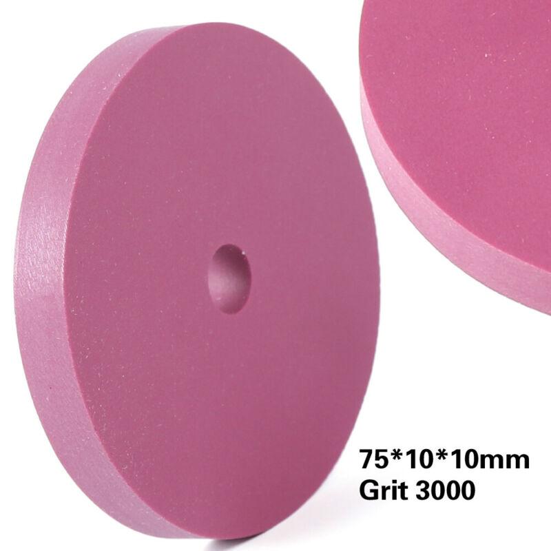3000# 75mm Ruby Grinding Polishing Stone Ruby Sharpening Wheel Abrasive Wheels