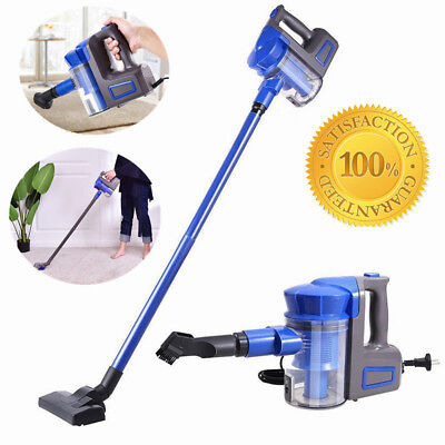 2-in-1 Vacuum Cleaner Hand Held Upright Stick Bagless Corded Hoover 700W 1L Blue