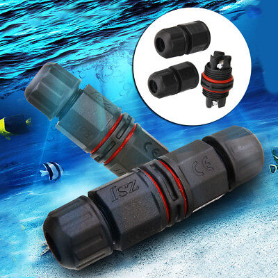 Ip67 Waterproof Electrical Connector Cable Wire 23 Pin Outdoor Plug Socket New