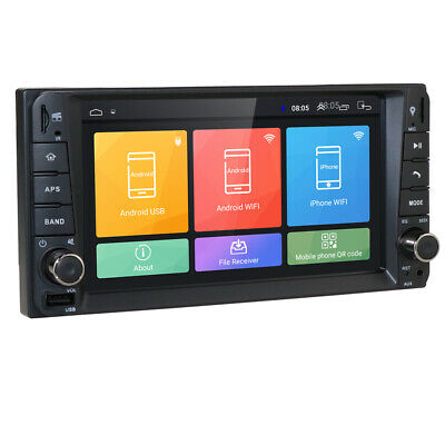 Android 9.0 in Dash Car Stereo Radio GPS for Toyota Corolla Camry Hilux RAV4 86