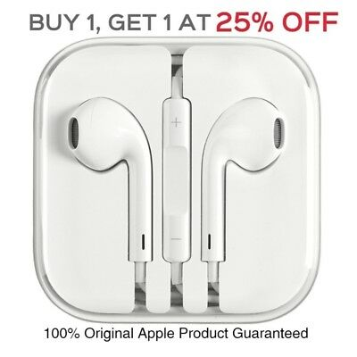 Original OEM Apple EarPods Earphones Earbuds For iPhone 5 5s 6s 6Plus MD827LL/A