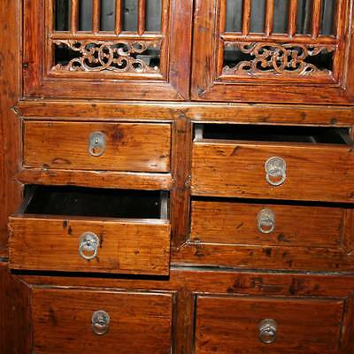 Купить FINE ANTIQUE CHINESE ELM WOOD COMPOUND CABINET FURNITURE CHINA 19TH C