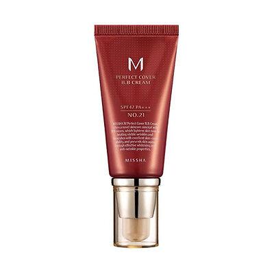 [Missha] M Perfect Cover BB Cream 50ml # 21 SPF42 PA+++ Korean Cosmetic Makeup