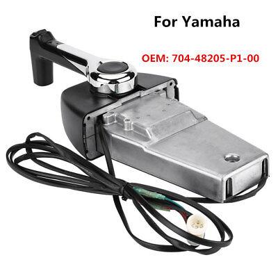 Marine Engine Binnacle Single Remote Control Box For Yamaha 2-stroke Rigging LJ