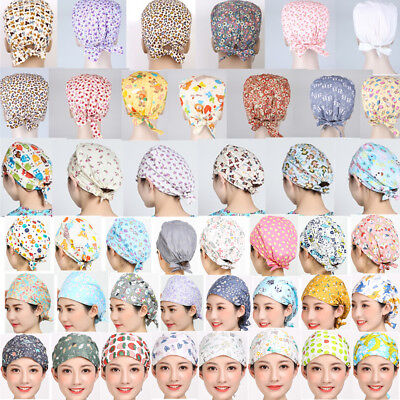 47 Kinds Doctor/Nurses Cartoon Cotton Scrub Cap Medical Surgery Surgical Hat/Cap](Nurses Hat)