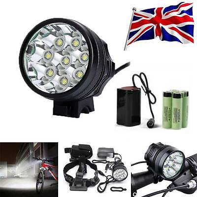 Super Bright 32000LM CREE T6 LED Mountain Bike Light Cycling Bicycle Head Light